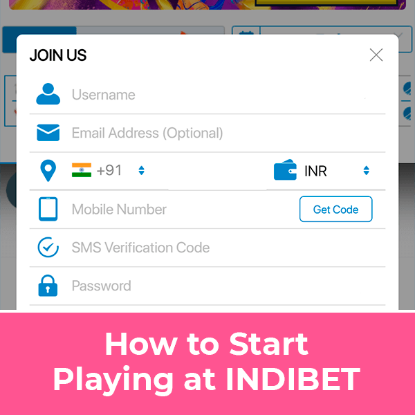 How to start playing at indibet