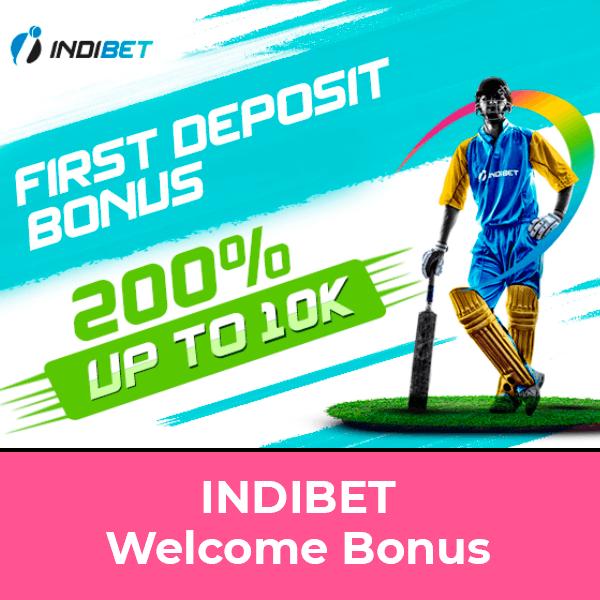 Indibet Welcome Bonus